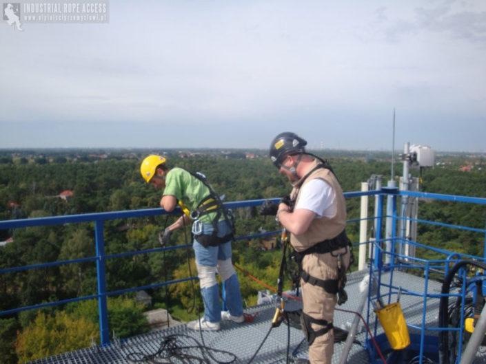 Instalacje odgromowe przeciwpożarowe Alpinisci Przemyslowi