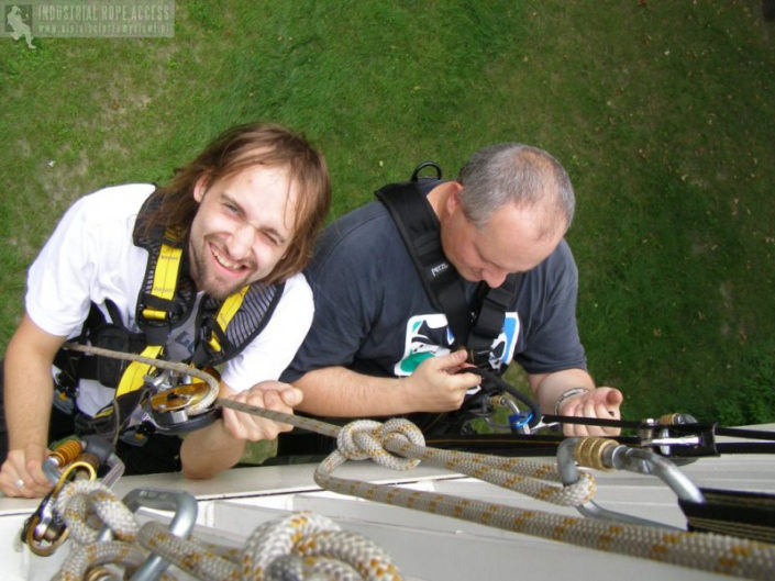 Szkolenia i kursy Alpiniści przemysłowi