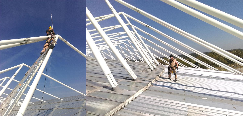 Instalacje odgromowe Prace wysokościowe
