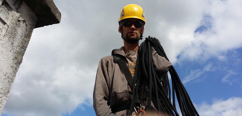 alpinista przemysłowy