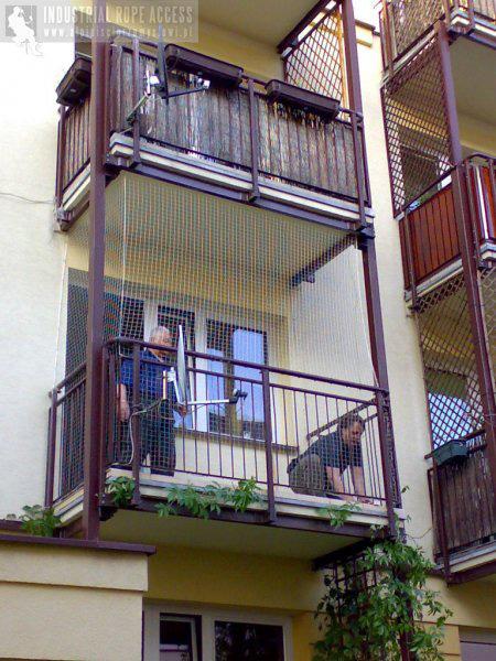 Siatki na balkon