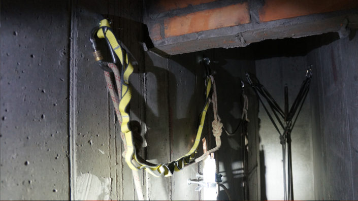 instalacja kanały wentylacyjne w budynku szacht